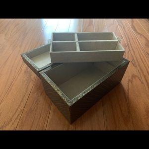 Pottery Barn Medium Jewelry Box